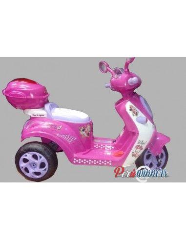 Trimoto moto a bateria modelo Minnie Mouse