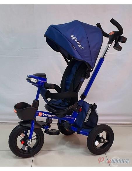 Triciclo babygo deluxe - Azul  - 1