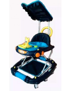 andador mecedor Gato - Azul