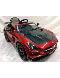 Carro a bateria Mercedes Benz SLS AMG - Rojo