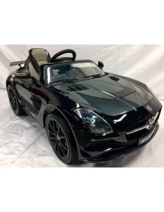 Carro a bateria Mercedes Benz SLS AMG - Negro