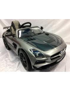 Carro a bateria Mercedes Benz SLS AMG - Plomo