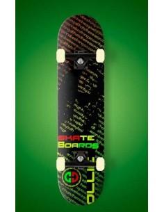 skateboard / skate Ollie Rastafari