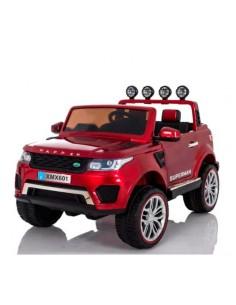 Carro a bateria camioneta jeep - Rojo